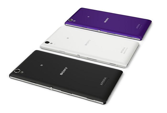 Sony Xperia T3 oficial cámara trasera en México colores acostados