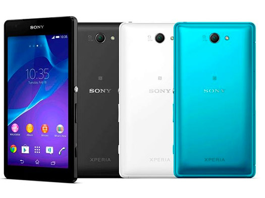 Sony Xperia Z2a colores