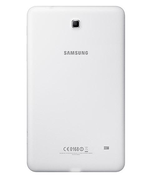 Samsung Galaxy Tab 4 8.0 en México color blanco cámara trasera