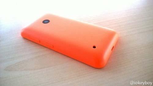 Nokia Lumia 530 toma trasera
