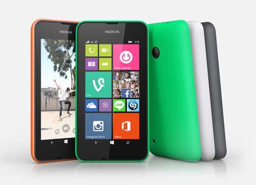 Nokia-Lumia-530 diseños