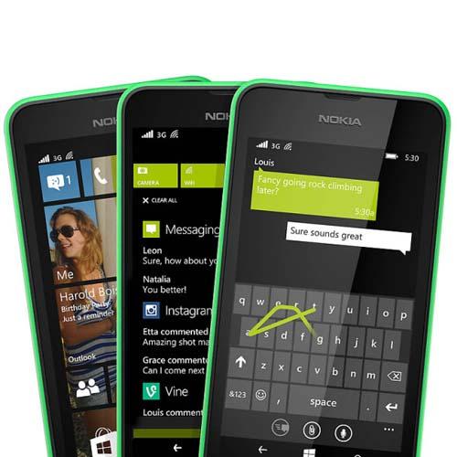 Nokia Lumia 530 toma de pantalla