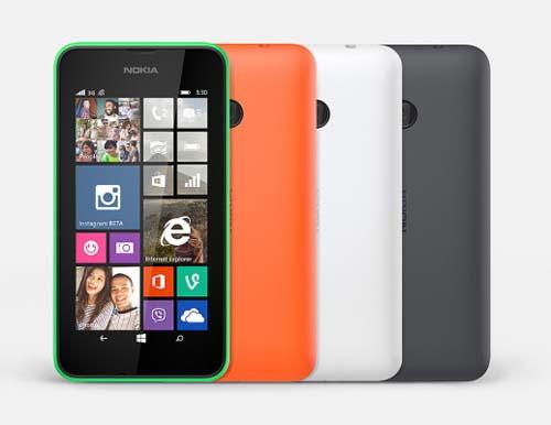 Nokia Lumia 530 colores