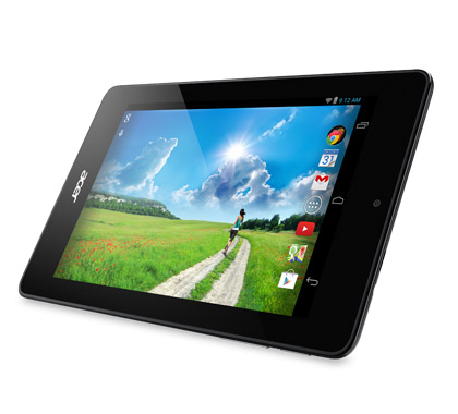 "Acer Iconia One 7 pantalla de 7"" horizontal"