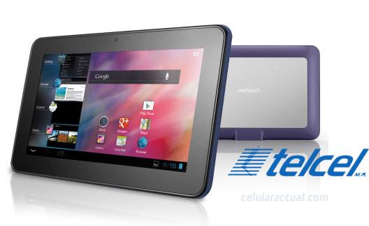 Alcatel One Touch Evo 7 en México con Telcel