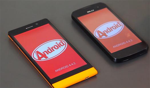 Blu Life 8 y Neo 4.5 con actualización a Android 4.4 KitKat