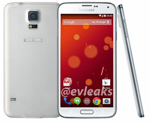 Samsung Galaxy S5 Google Play Edition en nueva imagen oficial completo