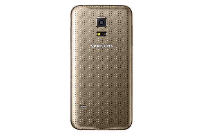 Samsung Galaxy S5 mini color Oro cámara trasera