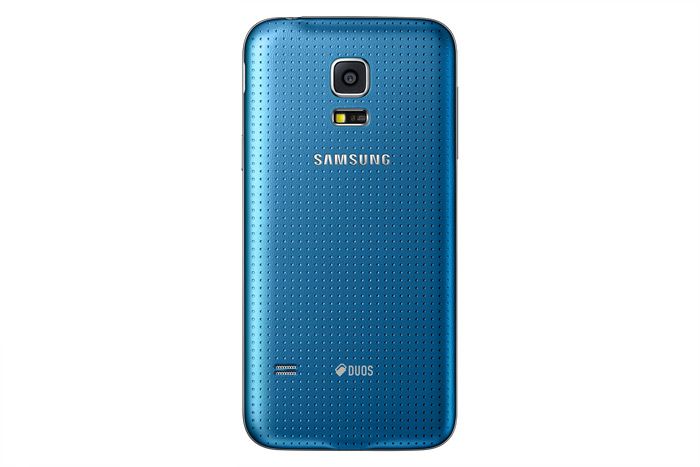 galaxy-s5-mini-Samsung Galaxy S5 mini color Azul cámara trasera Dual SIM