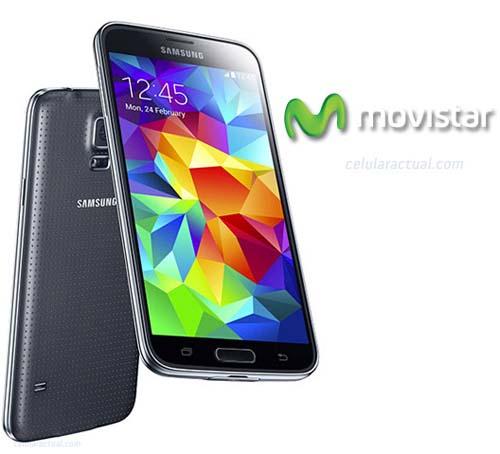 Galaxy S5 con Movistar