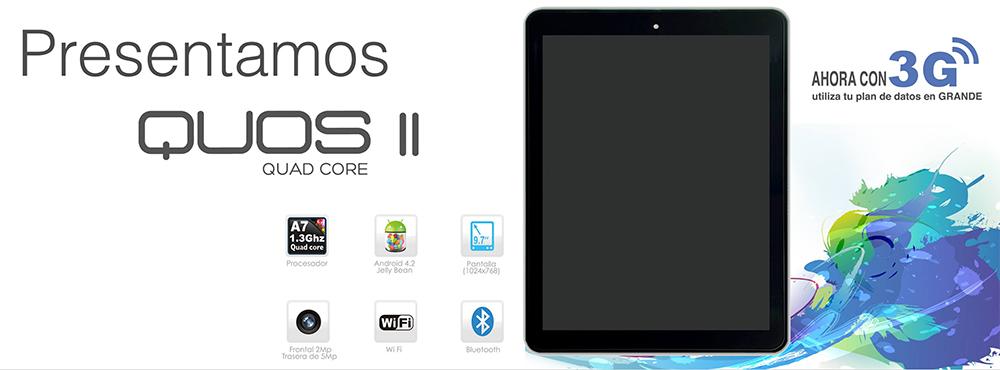 Inco Quos 2 en México con 3G y Quad Core