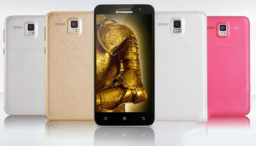 Lenovo Golden Warrior A8 colores