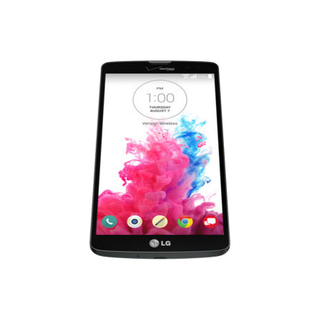 LG G Vista pantalla HD recostado