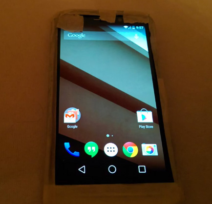 Moto X+ Android L