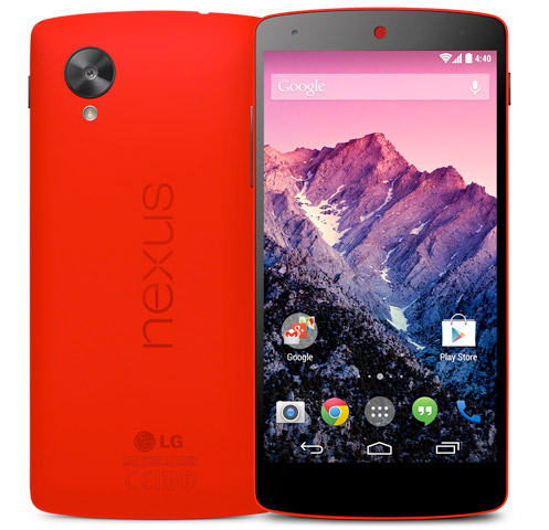 LG Nexus 5 color rojo 32 GB en México