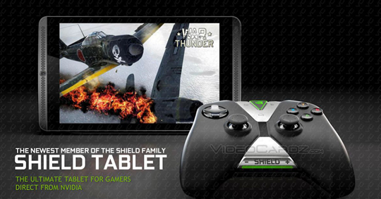 NVIDIA presenta tableta Shield