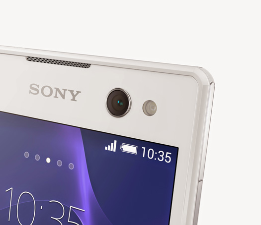 Sony Xperia C3 Selfie phone cámara frontal con Flash LED