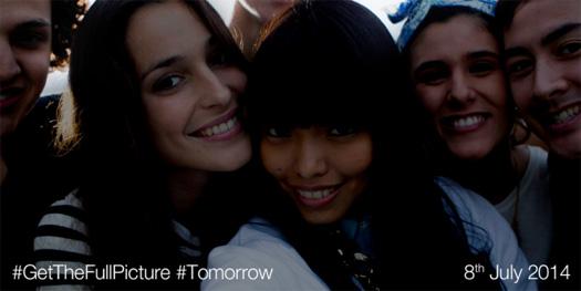 El Sony Xperia Selfie phone C3 Teaser