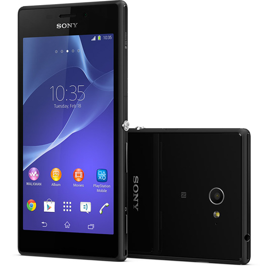 Sony Xperia M2 color negro