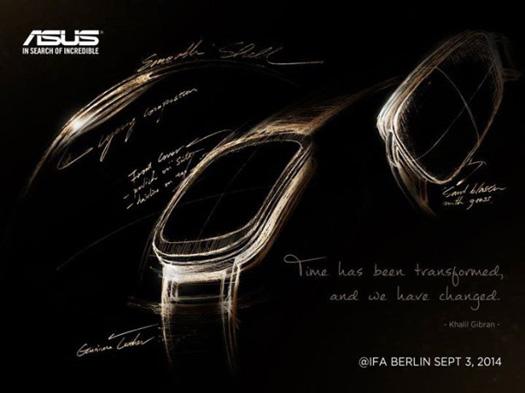 Asus Smartwatch en IFA 2014