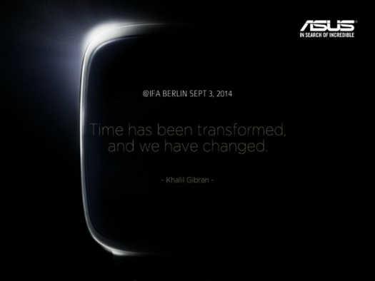 ASUS presenta imagen teaser de su Smartwatch para el IFA