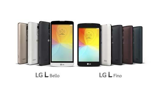 LG L Bello y L Fino