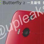 El HTC Butterfly 2 se filtran imágenes oficiales
