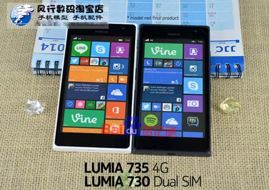 Lumia 730 y 735