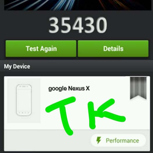 Motorola Nexus X captura