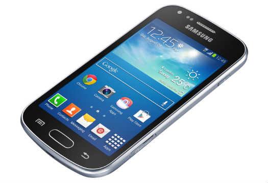 Galaxy Trend Plus pantalla