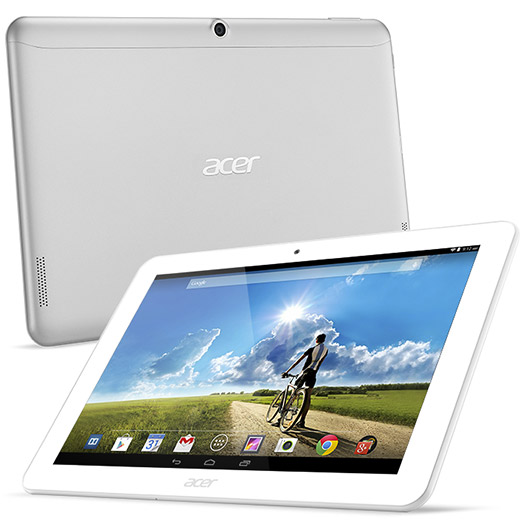 Acer Iconia Tab A3-A20 pantalla y cámara trasera de lado