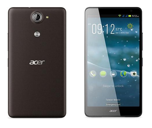 Acer Liquid X1 pantalla y cámara