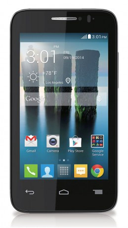 Alcatel One Touch Evolve 2 pantalla