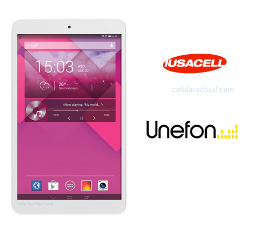 Alcatel Pop 8 Iusacell y Unefon