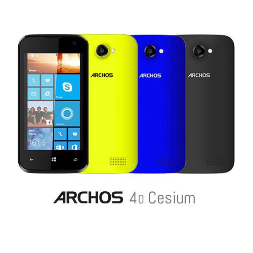 Archos 40 Cesium Windows Phone 8.1