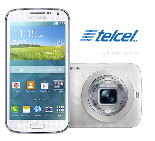 Samsung Galaxy K Zoom en México con Telcel
