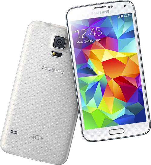 Samsung Galaxy S5 4G+ color blanco