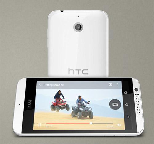 HTC Desire 510 Videos en pantalla