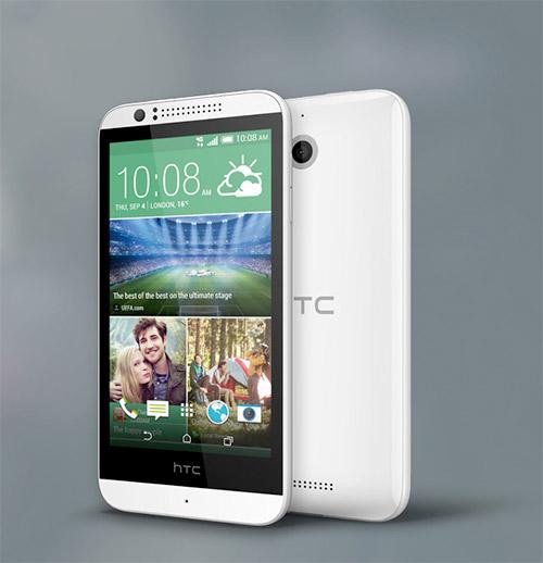 HTC Desire 510 pantalla y cámara