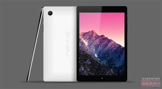 HTC Nexus 8 (T1) render no oficial