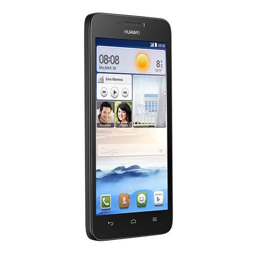 Huawei Ascend G630 negro perfil