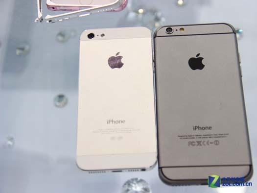 iPhone 5 y iPhone 6