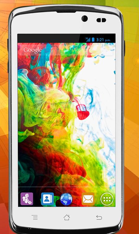 Lanix S420 en México con Telcel  pantalla