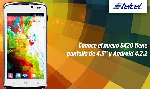 Lanix S420 en México con Telcel