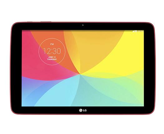 LG G Pad 10.1 V700 en México color rojo