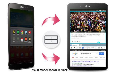 LG G Pad 7.0 Dual Window