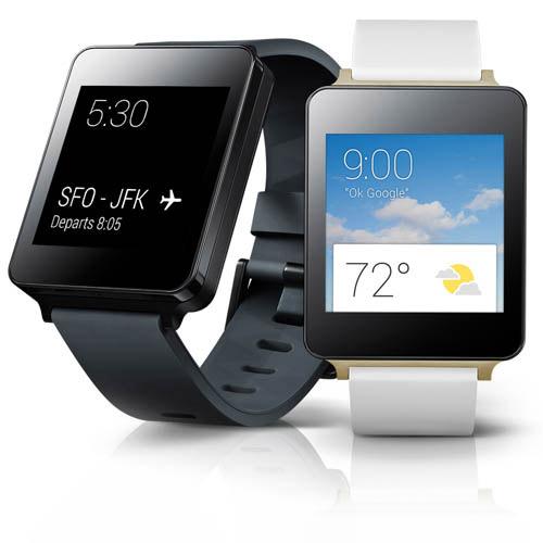 LG G Watch color negro y blanco