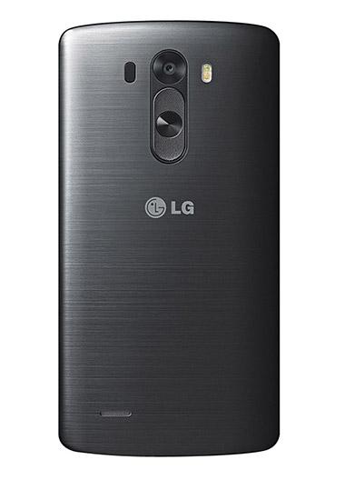 LG G3 color gris parte trasera cámara de 13 MP