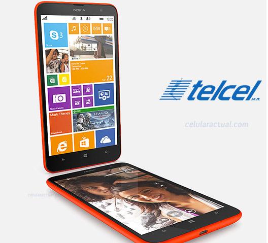 Nokia Lumia 1320 con Telcel México
