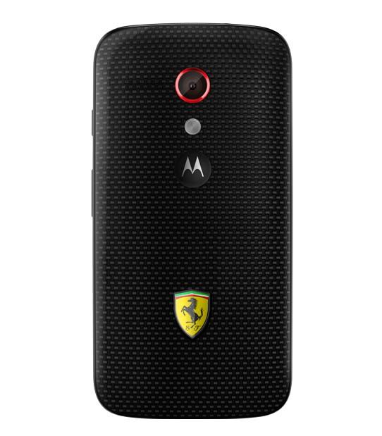 Moto G Ferrari Edition en México con Nextel parte trasera cámara de 5 MP